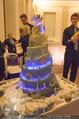 Anna Netrebko Hochzeit - Feier - Palais Liechtenstein - Di 29.12.2015 - Hochzeitstorte149