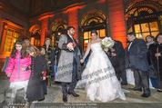 Anna Netrebko Hochzeit - Feier - Palais Liechtenstein - Di 29.12.2015 - Anna NETREBKO, Yusif EYVAZOV15