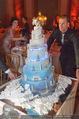Anna Netrebko Hochzeit - Feier - Palais Liechtenstein - Di 29.12.2015 - Hochzeitstorte152