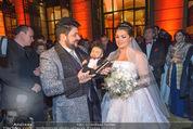 Anna Netrebko Hochzeit - Feier - Palais Liechtenstein - Di 29.12.2015 - Anna NETREBKO, Yusif EYVAZOV16