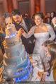 Anna Netrebko Hochzeit - Feier - Palais Liechtenstein - Di 29.12.2015 - Anna NETREBKO, Yusif EYVAZOV schneiden Hochzeitstorte an162