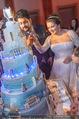 Anna Netrebko Hochzeit - Feier - Palais Liechtenstein - Di 29.12.2015 - Anna NETREBKO, Yusif EYVAZOV schneiden Hochzeitstorte an163