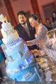Anna Netrebko Hochzeit - Feier - Palais Liechtenstein - Di 29.12.2015 - Anna NETREBKO, Yusif EYVAZOV schneiden Hochzeitstorte an164