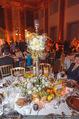 Anna Netrebko Hochzeit - Feier - Palais Liechtenstein - Di 29.12.2015 - Tischgedeck, Dekoration, Schmuck174