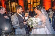 Anna Netrebko Hochzeit - Feier - Palais Liechtenstein - Di 29.12.2015 - Anna NETREBKO, Yusif EYVAZOV18
