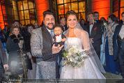 Anna Netrebko Hochzeit - Feier - Palais Liechtenstein - Di 29.12.2015 - Anna NETREBKO, Yusif EYVAZOV22