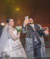 Anna Netrebko Hochzeit - Feier - Palais Liechtenstein - Di 29.12.2015 - Anna NETREBKO, Yusif EYVAZOV beim Feuerwerk29
