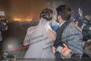 Anna Netrebko Hochzeit - Feier - Palais Liechtenstein - Di 29.12.2015 - Anna NETREBKO, Yusif EYVAZOV beim Feuerwerk30