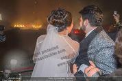 Anna Netrebko Hochzeit - Feier - Palais Liechtenstein - Di 29.12.2015 - Anna NETREBKO, Yusif EYVAZOV beim Feuerwerk31
