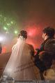Anna Netrebko Hochzeit - Feier - Palais Liechtenstein - Di 29.12.2015 - Anna NETREBKO, Yusif EYVAZOV beim Feuerwerk34