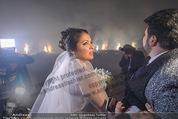 Anna Netrebko Hochzeit - Feier - Palais Liechtenstein - Di 29.12.2015 - Anna NETREBKO, Yusif EYVAZOV beim Feuerwerk35