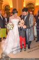 Anna Netrebko Hochzeit - Feier - Palais Liechtenstein - Di 29.12.2015 - Anna NETREBKO mit Sohn Tiago, Yusif EYVAZOV37
