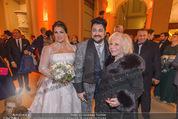 Anna Netrebko Hochzeit - Feier - Palais Liechtenstein - Di 29.12.2015 - Anna NETREBKO, Yusif EYVAZOV, Yvonne KALMAN41