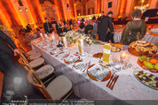Anna Netrebko Hochzeit - Feier - Palais Liechtenstein - Di 29.12.2015 - Tisch des Brautpaars58