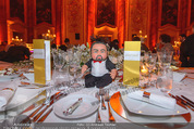Anna Netrebko Hochzeit - Feier - Palais Liechtenstein - Di 29.12.2015 - Tisch des Brautpaars59