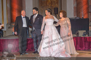 Anna Netrebko Hochzeit - Feier - Palais Liechtenstein - Di 29.12.2015 - Anna NETREBKO mit Vater Yuri, Yusif EYVAZOV mit Mutter Shafiga71