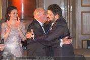Anna Netrebko Hochzeit - Feier - Palais Liechtenstein - Di 29.12.2015 - Yusif EYVAZOV mit Schwiegervater Yuri77