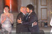 Anna Netrebko Hochzeit - Feier - Palais Liechtenstein - Di 29.12.2015 - Yusif EYVAZOV mit Schwiegervater Yuri78
