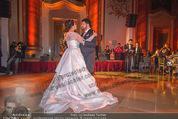 Anna Netrebko Hochzeit - Feier - Palais Liechtenstein - Di 29.12.2015 - Anna NETREBKO, Yusif EYVAZOV beim Er�ffnungstanz, tanzen86
