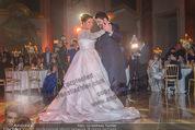 Anna Netrebko Hochzeit - Feier - Palais Liechtenstein - Di 29.12.2015 - Anna NETREBKO, Yusif EYVAZOV beim Er�ffnungstanz, tanzen91