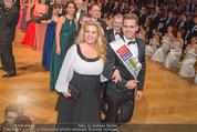 Zuckerbäckerball - Hofburg - Do 14.01.2016 - Susanna HIRSCHLER, Philipp KNEFZ66