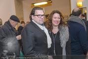 Dreigroschenoper Galavorstellung - Theater an der Wien - Sa 16.01.2016 - Michael SCHADE mit Ehefrau Dee MCKEE25