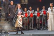 Dreigroschenoper Galavorstellung - Theater an der Wien - Sa 16.01.2016 - Schlussbild, Schlussapplaus, B�hnenfoto96