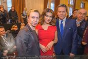 Opernball PK - Wiener Staatsoper - Di 19.01.2016 - Olga PERETYATKO, Vladimir MALAKHOV, Alfons HAIDER20