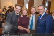 Opernball PK - Wiener Staatsoper - Di 19.01.2016 - C. WAGNER-TRENKWITZ, K. HOHENLOHE, A. HAIDER. B. RETT63