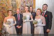 Opernball PK - Wiener Staatsoper - Di 19.01.2016 - D. MEYER, D. TREICHL-ST�RGKH, Roman SVABEK mit Deb�dantinnen65