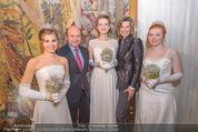 Opernball PK - Wiener Staatsoper - Di 19.01.2016 - Dominque MEYER, Desiree TREICHL-ST�RGKH mit Deb�dantinnen67