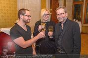 Abend der Nominierten - Rathaus - Di 19.01.2016 - Ulrich SEIDL, Veronika FRANZ, Severin FIALA25