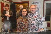 Chris Lohner Bühnenjubiläum - Kulisse - Mi 20.01.2016 - Reinhard NOWAK mit Ehefrau Arzu1