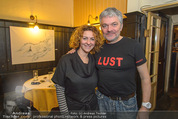 Chris Lohner Bühnenjubiläum - Kulisse - Mi 20.01.2016 - Werner BRIX mit Magdalena5