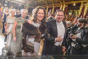Philharmonikerball 2016 - Wiener Musikverein - Do 21.01.2016 - Michael SCHADE mit Ehefrau Dee MCKEE104