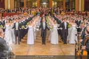 Philharmonikerball 2016 - Wiener Musikverein - Do 21.01.2016 - Baller�ffnung110
