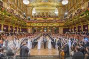Philharmonikerball 2016 - Wiener Musikverein - Do 21.01.2016 - Baller�ffnung111