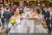 Philharmonikerball 2016 - Wiener Musikverein - Do 21.01.2016 - Baller�ffnung118