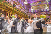 Philharmonikerball 2016 - Wiener Musikverein - Do 21.01.2016 - Baller�ffnung123