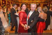 Philharmonikerball 2016 - Wiener Musikverein - Do 21.01.2016 - Rudolf HUNDSTORFER mit Ehefrau Karin137