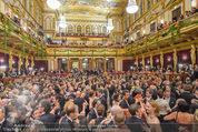 Philharmonikerball 2016 - Wiener Musikverein - Do 21.01.2016 - Ballg�ste, Ballsaal, Tanzen, Tanzfl�che, Publikum, Stimmung144