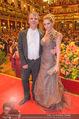 Philharmonikerball 2016 - Wiener Musikverein - Do 21.01.2016 - Matthias FLETZBERGER mit Freundin Dragana154