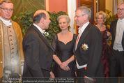 Philharmonikerball 2016 - Wiener Musikverein - Do 21.01.2016 - Dominique MEYER, Wilhelm MOLTERER mit Ehefrau17