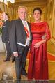 Philharmonikerball 2016 - Wiener Musikverein - Do 21.01.2016 - Rudolf HUNDSTORFER mit Ehefrau Karin42