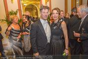 Philharmonikerball 2016 - Wiener Musikverein - Do 21.01.2016 - Tobias MORETTI mit Ehefrau Julia60