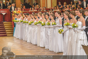 Philharmonikerball 2016 - Wiener Musikverein - Do 21.01.2016 - Baller�ffnung93