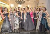 Opernball Couture Salon - Popp & Kretschmer - Mi 27.01.2016 - Gruppenfoto Solistinnen in Kleidern65