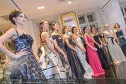 Opernball Couture Salon - Popp & Kretschmer - Mi 27.01.2016 - Gruppenfoto Solistinnen in Kleidern68