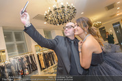 Opernball Couture Salon - Popp & Kretschmer - Mi 27.01.2016 - Olga PERETYATKO, J�rgen Christian JC HOERL machen Selfie81