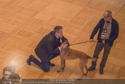 ORF backstage am Ball - Staatsoper - Mi 03.02.2016 - Alfons HAIDER mit Sprengstoffsp�rhund12